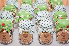 Decorating Mason Jars For Baby Shower Baby Shower on a Budget Rake and MakeRake and Make Marsela's 55