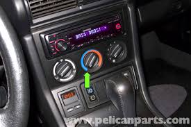 bmw z3 heater control valve replacement 1996 2002 pelican next rotate the hvac temperature control to full cold green arrow