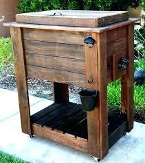 wood cooler cart outdoor cooler cart wood outdoor cooler cart wood cooler carts on wheels