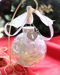 Beautiful Personalized Wedding Invitation Christmas Ornament
