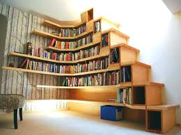under stair shelves decoration stair step shelves popular shelf walls wall with regard to from stair