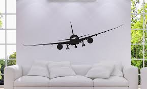 amazon airplane boeing 787 jet airplane mural vinyl wall decal vinyl wall art sticker decal decor wall decal wall decal perfect for a gift 57  on color planes wall art with amazon airplane boeing 787 jet airplane mural vinyl wall decal