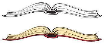 open book vector sketch stock photography