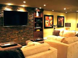 Basement Wall Design Mesmerizing Painting Basement Walls Ideas Concrete Basement Wall Ideas Image Of