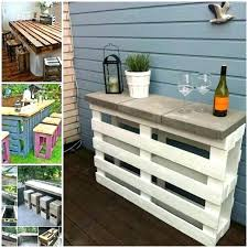 outdoor pallet deck furniture. Wooden Pallets Furniture Pallet Projects Outdoor  View In Gallery Bar Deck U