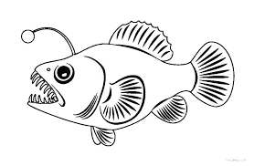 Realistic Fish Coloring Pages Fish Coloring Page Realistic Fish