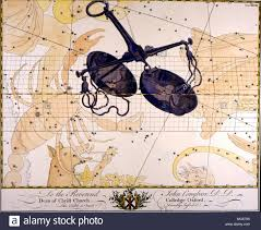 Star Chart Book Constellations And Star Maps Libra A Loose Late 18th Century