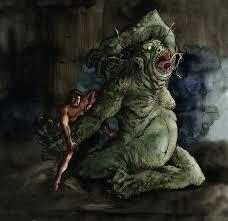 monster creature grendel. Plain Monster Throughout Monster Creature Grendel R