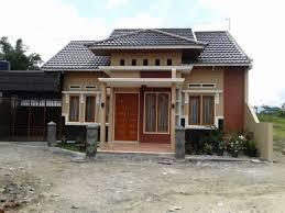 desain rumah sederhana di kampung yang cantik sketsa denah