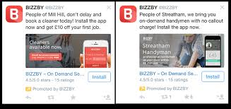 how twitter advertising works twitters hyper local ads work a case study twitter wersm we