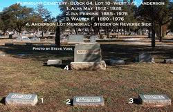 Iva Perkins Anderson (1885-1976) - Find A Grave Memorial