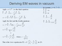16 deriving em waves