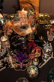 Table Decorations For Masquerade Ball glasses Decor ideas Pinterest Masquerades Table decorations 50
