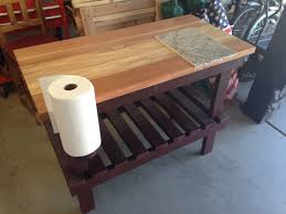interior bbq prep table brilliant ana white grill with built in cooler diy projects pertaining