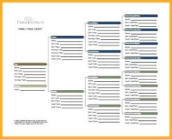 Genealogy Spreadsheet Template Genealogy Fan Chart Excel Pigeon Pedigree Template