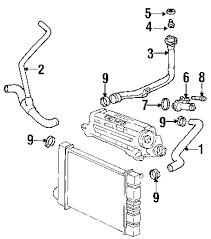 parts com® pontiac grand am radiator hoses oem parts 2001 pontiac grand am se1 l4 2 4 liter gas radiator hoses