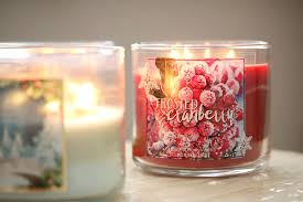 frosted cranberry candle bath and body works its sweater weather p s im currently addicted to bath body