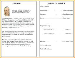 Funeral Program Word Template Magnificent Funeral Obituary Programs Templates Images Gallery Butterfly