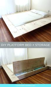 diy platform bed. How To Build Platform Bed With Storage Best Ideas On In Homemade Twin Diy