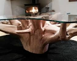 Great Tree Root Coffee Table. Hand Made British Tree Root. Made To Order. Images