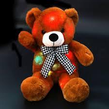 Glow In The Dark Teddy Bear Night Light Glow Teddy Bear Night Light Plush Toy 17 Bstaofy