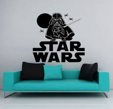 themed star wars wall decals
