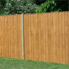 forest featherdge fence panel 6ft