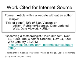 How To Make Work Cited Page How To Make A Work Cited Page 1 Students Will Review The