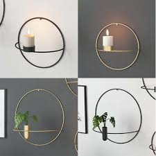 metal candle holder round candlestick