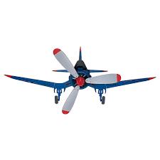 Airplane Light Fixture Home Depot Hunter Fantasy Flyer 48 In Indoor Blue Flush Mount Ceiling Fan