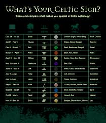 Celtic Symbol Chart Astrology Celtic Symbols And Irish Astrology Apanache