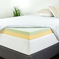 memory foam mattress topper box. Simple Memory Zinus 4 Inch Green Tea Memory Foam Mattress Topper Twin Throughout Topper Box