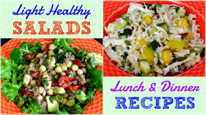 easy dinner ideas for company. light healthy salads for lunch \u0026 dinner (weight loss recipes) - youtube easy ideas company
