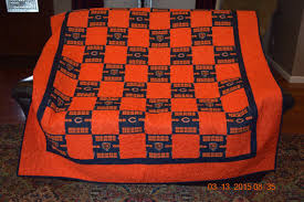 Chicago Bears Quilt READY TO SHIP & Chicago Bears Quilt - READY TO SHIP Adamdwight.com