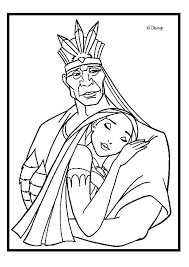 Small Picture Powhatan and pocahontas coloring pages Hellokidscom