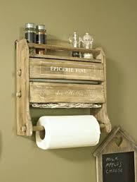 foil cling kitchen roll dispenser holder