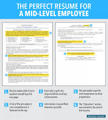 Here Is An Ideal Resume For A Mid Level Employee Business Insider