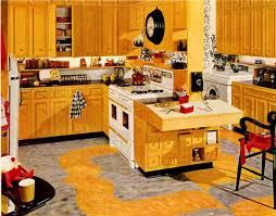 Retro Kitchen Wall Decor Retro Yellow Kitchen Decor Miserv