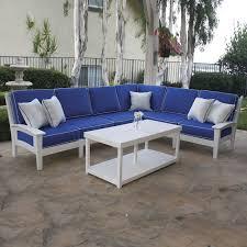 Newport Sectional Deep Seating Set Newport Malibu Outdoor