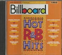 Details About Billboard Hot R B Hits Cd 1982 Like New