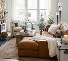 gorgeous leather sofas and sectionals on deep during this one day only pottery barn black friday