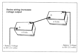 how to wire two 24v solar panels in parallel with two 12v at 24 travel trailer battery wiring diagram at Motorhome Battery Wiring Diagram Two