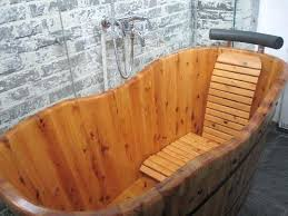 wooden bathtub hotel palace wooden bathtub part of the queens room bathroom wooden bathtub caddy australia wooden bathtub