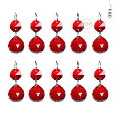 red glass chandelier modern art small size home hotel decoration indoor
