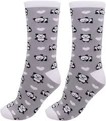 Kawaii Socks Womens <b>Cute</b> Funny Socks Casual <b>Cotton</b> Crew ...