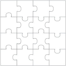 Blank Puzzle Template Printable Fresh Piece Lovely Free Concept ...