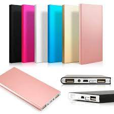iphone power bank. 20000mah double usb ultra thin portable external battery charger power bank for mobile cell phone iphone iphone