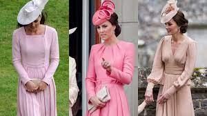 O mundo encantado de Kate Middleton em 10 visuais cor de rosa