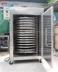 Cập nhật các mức giá máy sấy thực phẩm xoay công nghiệp mới nhất !
