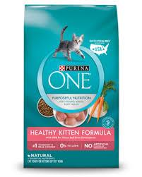 Purina One Healthy Kitten Food Formula